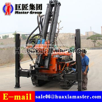 FY200 Crawler Pneumatic Rock Drilling Rig Bore Well Drilling Machine For  Sale