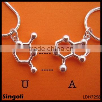 silver Serotonin Necklace chain Lobster clasp 2014 wholesale alili express fashion necklace jewelry