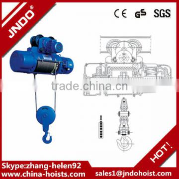 Alibaba express wireless remote control electric hoist