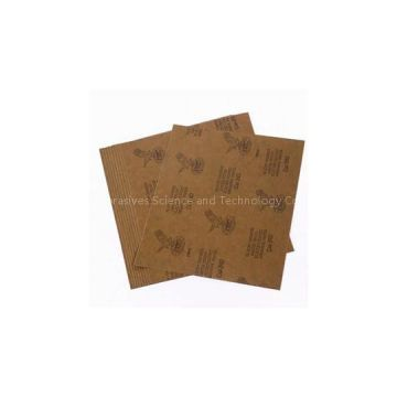 Wet Dry Silicon Carbide Abrasive Craft Sandpaper Sheets For Metal