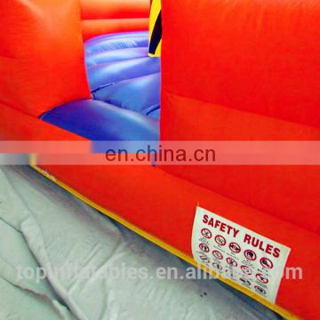 TOP meltdown inflatable strike impact fight games for party event