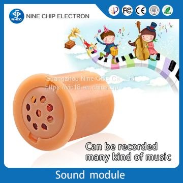 Audio record sound module music buttons for stuffed animals toy of
