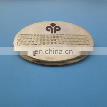 high-end special finish gold namel badge with safety pin
