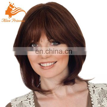 Aliexpress Hair Perfect Quality Short Bob Wig Full Lace Indian Remy Wigs 7A Human Hair Lace Wig