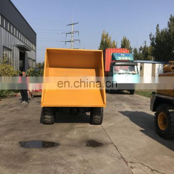 3Ton Wheeled Site Dumper for South Africa and Brazil Market