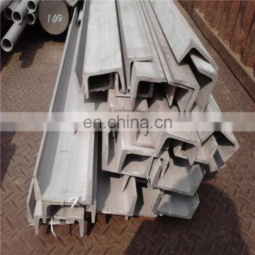 AISI Standard Stainless steel Channel bar 304l