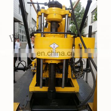 Borehole water well drilling rig Hydraulic drilling machine with high capacity