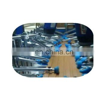 PUR profile wrapping machine for wrap aluminum foil