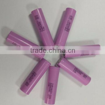 Newest arrival! Best price for Samsung SDI INR18650-30Q rechargeable jump battery dry battery for electric toy car