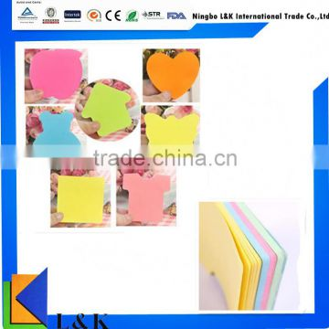 creative custom multi color note it pad/wholesale memo pad/sticky note pad