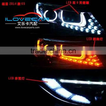 China Manufacturer Car Accessories Super bright K5 LED KIT Led DRL tunning light