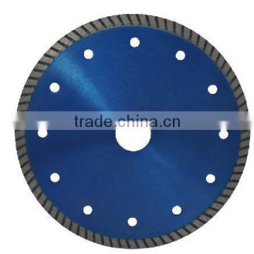 Professional long life turbo diamond blade /turbo fan blade