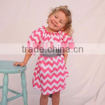e54cb715e49 kid clothes New Styles Full Skirt Baby Chevron Cotton Dress  Pettidress  Wholesale Toddler Girls Summer Chevron Dress Dance dress of Newest New kids  dress ...