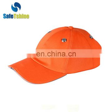 Best selling light weight cheap LED light cotton safety bump cap
