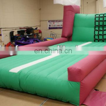 PVC Inflatable Tumble Track for sports and training with slide