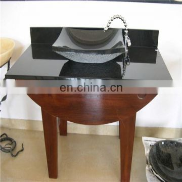 Shanxi black stone basin for indoor