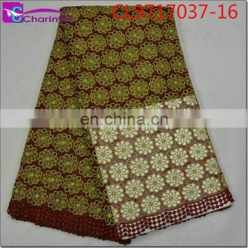 Hot sale African guipure lace fabrics CL9717037