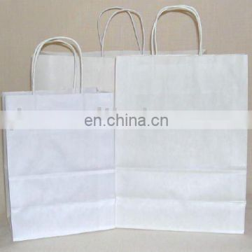 craft shopping braided paper bag