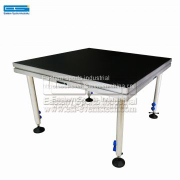 Selling Concerts Floor Wooden Blocks Dj Choral Risers Retractable Aluminium Deck Podium Portable Stage Covers For Sale