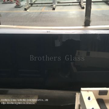 Black Spandrel Glass