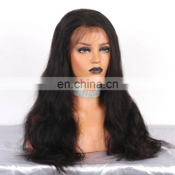 natural full lace human hair wig