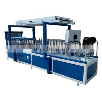 Woodworking PVC  cold glue profile wrapping machine manufacture