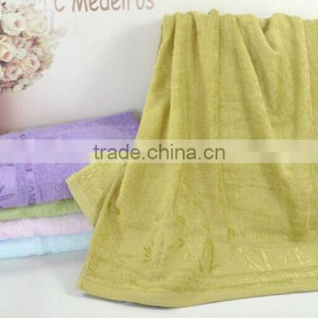China textile manufactory bamboofiber bath towel modal fabric canbe customize very soft for skin