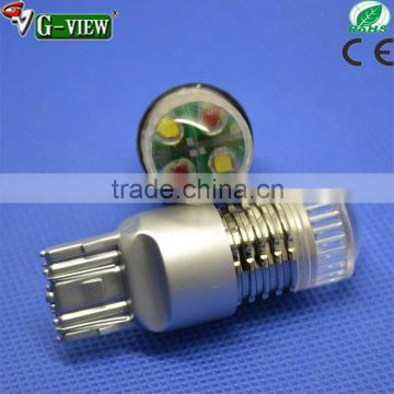 Newest dual color Switchback T20 7443 LED Turn Signal Light Bulbs color changing led light bulb