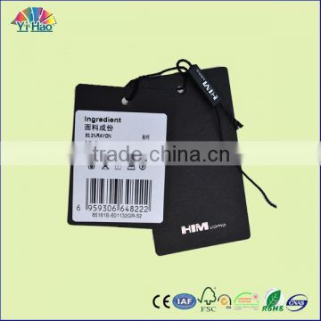 high quality clothing hang tag , printing hang tag