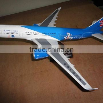 Guo hao hot sale resin scale plane toy model,a380 drone plane toy