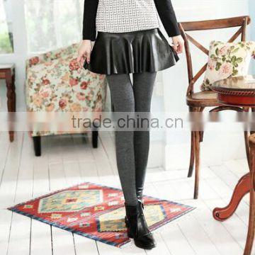 39993709747f2 EY0071L Wholesale Hot Selling High Waist Yoga Pants Korean Hot Girls  Fashion Winter Cotton Velvet Thick Warm Ladies Skirts Leggi of Leggings  from China ...