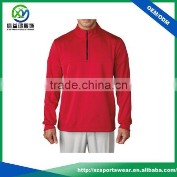 6ef0ba8e Best quality mens red color with zip design gym hoodie 100% blank polyester  pullover windbreaker of Sweaters from China Suppliers - 144933240