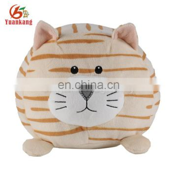plush round shaped leopard cute stuffed animals cat toy