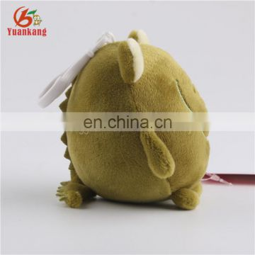 Shenzhen Supplier Small Plush Toys Crocodile Round Stuffed Alligator Animal Key chain