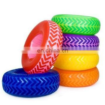 2016 hot-selling inflatable obstacle course tire set/inflatable tire obstacle course