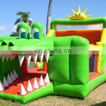 crocodile Theme Customized Shape Inflatable Jumping Bouncer/ bouncer for clerance/Party bouncer for sale