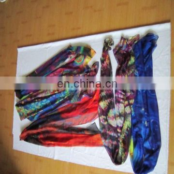 Factory Direct Custom Digital Printed Silk Scarf