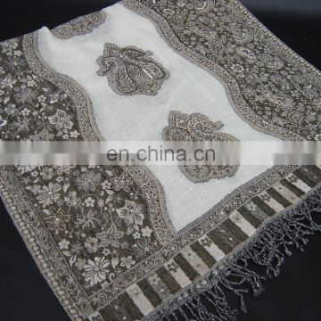 Wool Jacquard Shawls in Latest Designs