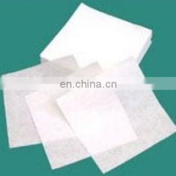 Cleaning Cleanroom Wrinkle Free Fabric Wipers Industrial Dust Remove 100% Polyester