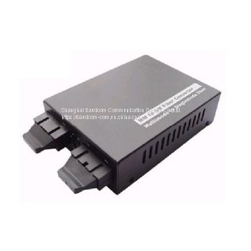 155M multimode to single mode Fiber media converter