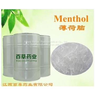 GMP Factory Price Good Quality Natural Crystal Menthol