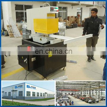 Seamless single corner welding PVC door machine