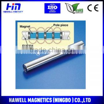 12000GS high strength neodymium magnetic bar for industry