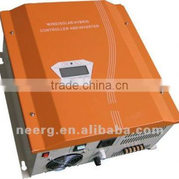 600w Hybrid Wind and Solar Controller and Inverter with Pure Sine Wave AC Output