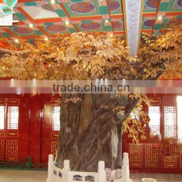 2017 New product fake banyan tree ornament UV proof tree artificial ficus tree