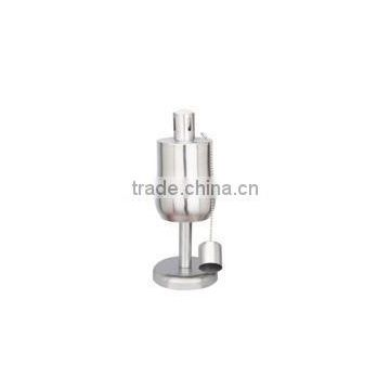 stainless steel oil lamp for table