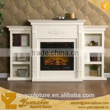 New style marble fireplace for indoor decoration