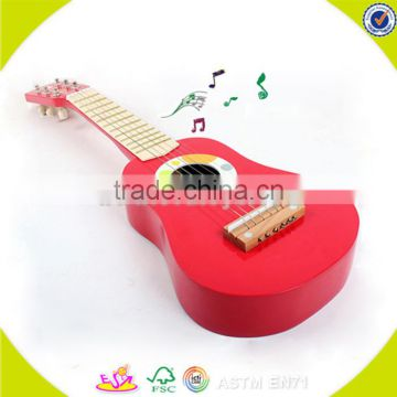 wholesale kids wooden guitar toy high quality baby wooden guitar toy cheap children wooden guitar toy W07H037