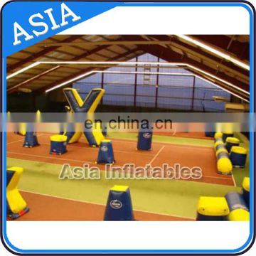 Archery Tag Inflatable Paintball Bunkers For Inflatable Laser Tag Games