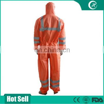 Factory Wholesale Reflective Safety Workwear Disposable Coverall